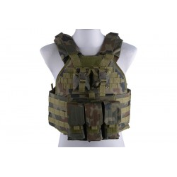 GFC TACTICAL - Gilet tactique/plate carrier - WZ.93 WOODLAND PANTHER