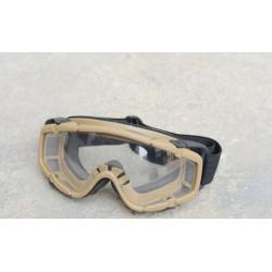FMA - Masque de protéction avec fixation pour casque - TAN