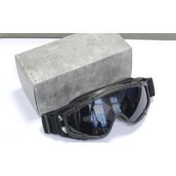 FMA - Masque de protéction avec fixation pour casque - NOIR