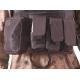 DELTA TACTICS - Gilet Plate Carrier tactique V07 - NOIR