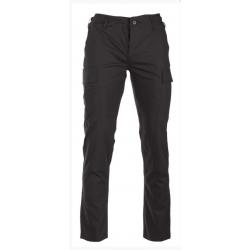 Pantalon BDU ripstop - Noir Mil-tec