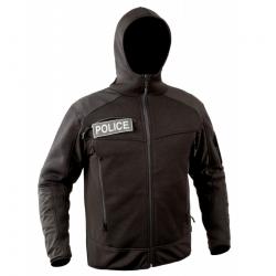 T.O.E - Veste jersey Essential - NOIR