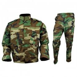 Tenue complète enfant woodland ( pantalon + veste) - ULTIMATE TACTICAL