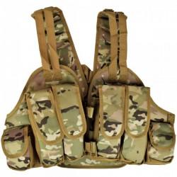 ROYAL - Gilet tactique avec poches - Multicam