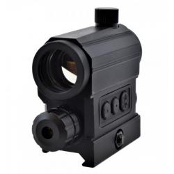 JS-TACTICAL - Viseur rétucule rouge/vert+ laser rouge