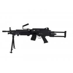 FN M249 AEG Black Nylon fibre - FN HERSTAL