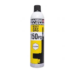 SWISS ARMS - Bouteille 760ml - Gaz siliconé (150PSI)