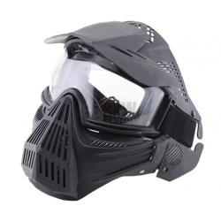 DELTA TACTICS - Masque de protection complet - NOIR
