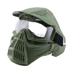 DELTA TACTICS - Masque de protection complet - OD