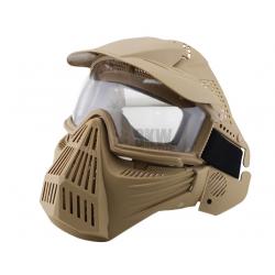 DELTA TACTICS - Masque de protection complet - TAN