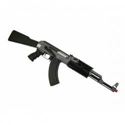 CYMA - Pack Débutant Réplique Airsoft AK47 RAS CM028A AEG - NOIR