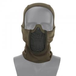 Cagoule/masque grillagé OD - SWISS ARMS