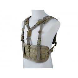 BIG FOOT - Chest Rig/sangle 1 point - Tan