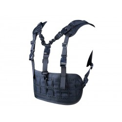 BIG FOOT - Chest Rig/sangle 1 point - NOIR