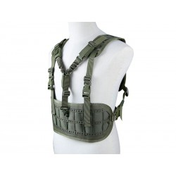 Chest Rig avec sangle 1 point OD - BIG FOOT