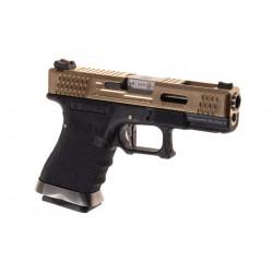 WE - S19 G-FORCE GBB Gaz - OR/NOIR