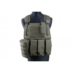 GFC TACTICAL - Gilet Tactique type MBSS - OD
