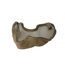 ULTIMATE TACTICAL - Masque grillagé V3 - TAN
