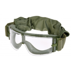 DELTA TACTICS - Masque de protection X8 - OD