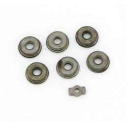Paliers (bushing) acier à réserve d´huile 8 mm - jeu de 6