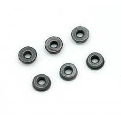 Paliers (bushing) acier à reserve d´huile 7 mm - jeu de 6