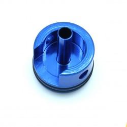 Tête de cylindre allégée double joint avec amortisseur frontal - alu anodisée bleu - Masada - Steyr - Scar H - Medusa