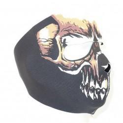 DMONIAC - Masque Néoprène intégral Dead Face