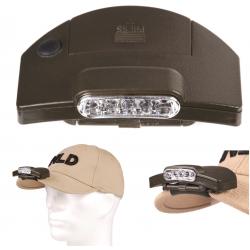 101 INC - Lampe de casquette 5 Led - OD