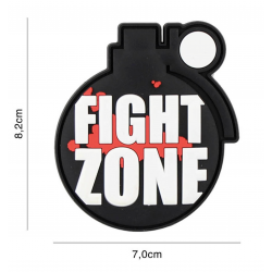 101 INC - Patch 3D PVC - FIGHT ZONE
