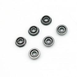 Roulements à billes acier 8 mm - jeu de 6