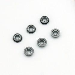 Roulements à billes acier 6 mm - jeu de 6
