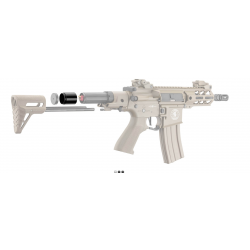 LANCER TACTICAL - Tube extension de crosse pour LT-34 Enforcer PDW