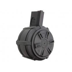 SAIGO DEFENSE - Chargeur DRUM électrique 1000 billes pour M4
