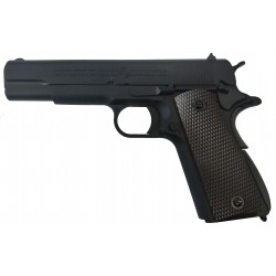 Colt 1911 Rail Gun CO2 bicolore noir 6mm culasse mobile