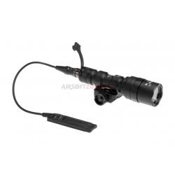 NIGHT EVOLUTION - Mini Lampe M300AA + support + Contacteur Déporté - NOIR