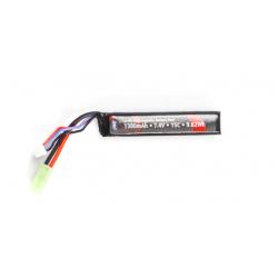 BLUE MAX - Batterie Lipo 7,4V 1100mAh 20C