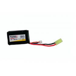 SWISS ARMS - Batterie Lipo 11,1V 1300mAh 25C