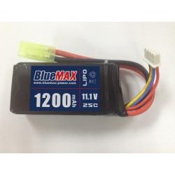 BLUE MAX - Batterie Lipo 11,1V 1200mAh 20C