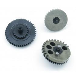 Engrenages acier CNC hélicoïdaux fort couple 100:200