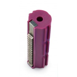 Piston plastique bordeaux 14 dents acier - Armyforce