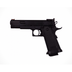 GOLDEN EAGLE - Pistolet Airsoft Hi-capa GBB Gaz - Noir