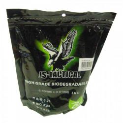 Billes 0,23gr en sachet de 1 kg (4347 billes) - JS-TACTICAL