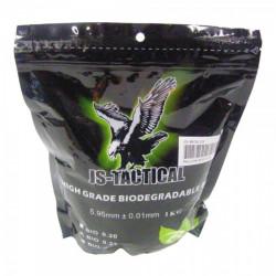 JS-TACTICAL - Billes BIO 0,23gr en sachet de 1 kg