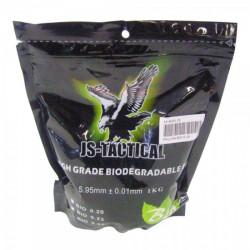 JS-TACTICAL - Billes BIO 0,25gr en sachet de 1 kg