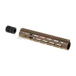 "ARES - Rail Keymod Octarms 9"" - TAN"