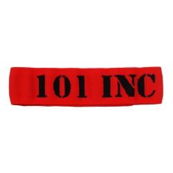 Brassard élastique - rouge - 101 INC