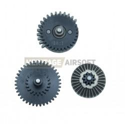 Jeu d´engrenages acier - 18:1 standard - CNC - Eagle Force