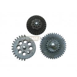 Engrenages acier roulements intégrés - CNC - 100:200 - Super Shooter