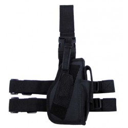 Drop leg holster right-hander black