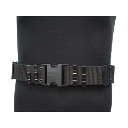 Combat Belt Nylon Black
